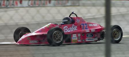Ashley Taws in F-1600 Race