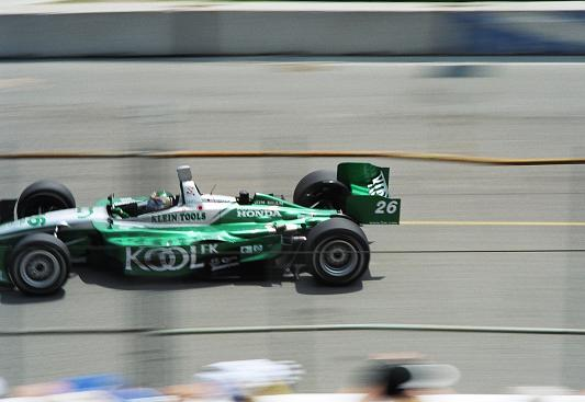 Paul Tracy whizzing by